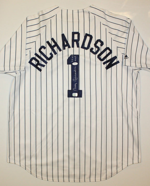 Bobby Richardson Autographed P/S New York Yankees Jersey- JSA Authenticated