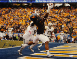 Kevin White Autographed 16x20 West Virginia One Hand Catch Photo with JSA-W