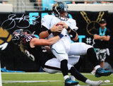 Brooks Reed Autographed 16x20 Jaguars QB Sack Photo- JSA W Authenticated