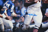 Gale Sayers HOF Autographed 16x20 Against Detroit Lions *Blue Photo- JSA Auth