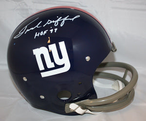Frank Gifford Autographed F/S New York Giants TK Helmet- JSA W Authenticated