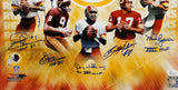 Quarterback Legends Autographed 16x20 Washington Redskins Photo- JSA W Auth