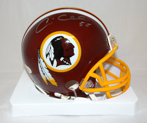 Andre Collins Autographed Washington Redskins Mini Helmet- JSA W Authenticated