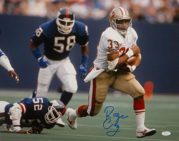 Roger Craig Autographed 16x20 Against Giants Photo- JSA W Authenticated