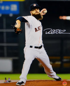Dallas Keuchel Signed Houston Astros 16x20 Vertical Pitching Photo- TriStar Auth