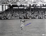 Duke Snider Autographed LA Dodgers 16x20 Cheering Photo- JSA Authenticated