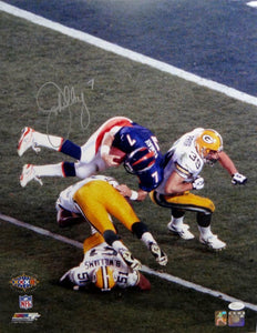 John Elway Autographed Denver Broncos 16x20 SB Spin PF Photo- JSA W Auth *Silver