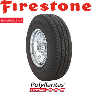 215-80 R15C FIRESTONE TRANSFORCE AT