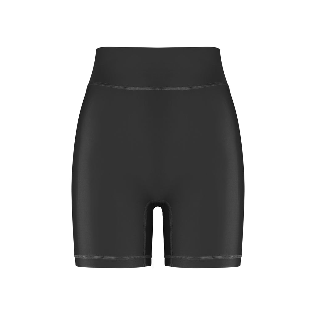 Cora Bicycle Shorts Black Front