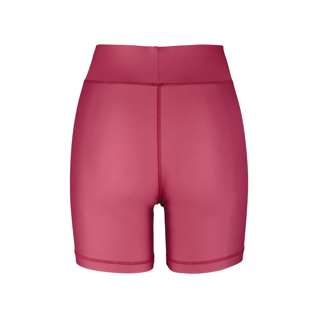 Cora Bicycle Shorts Wine Back