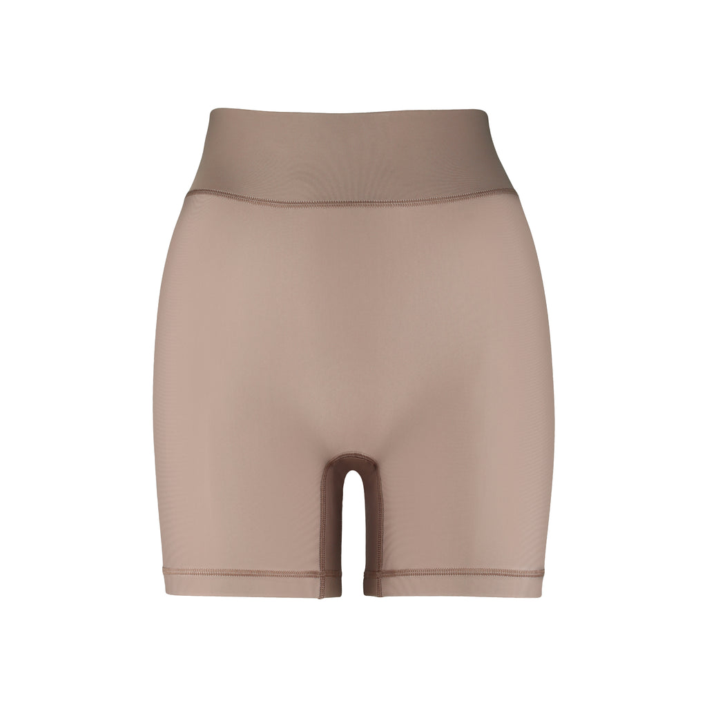 Cora Bicycle Shorts Sand Front