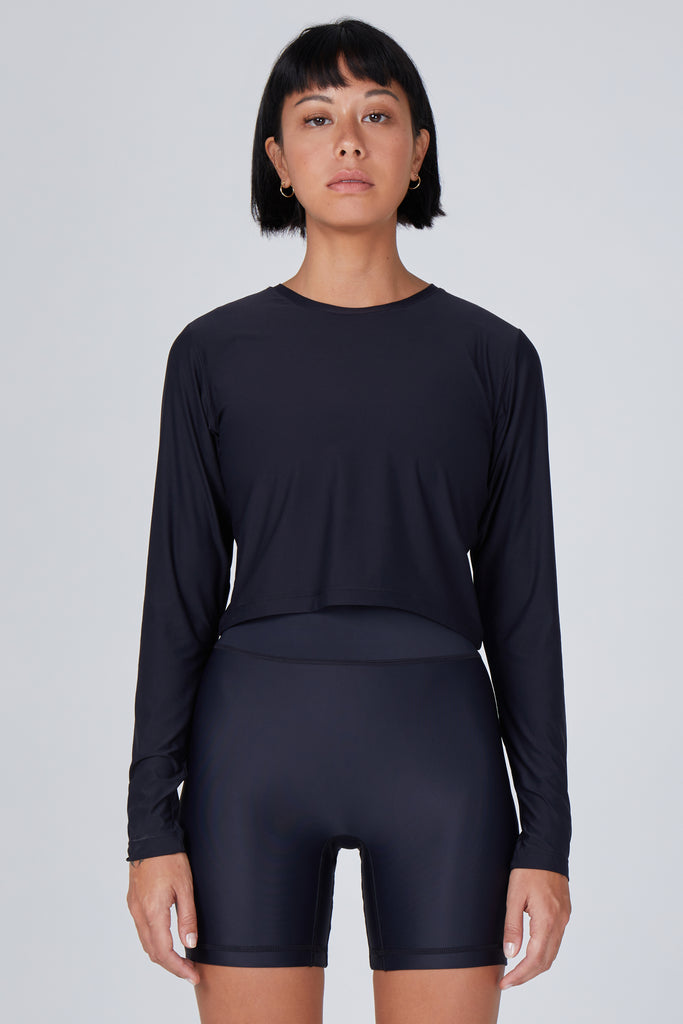 Elin Long Sleeve Crop