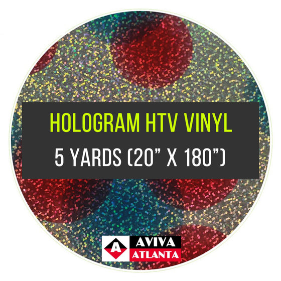 "Hologram Vinyl 5 Yards (20""x5 Yards)"