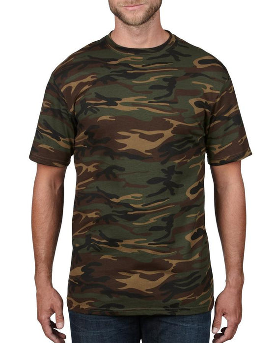 ANVIL 939 ADULT MIDWEIGHT CAMOUFLAGE TEE