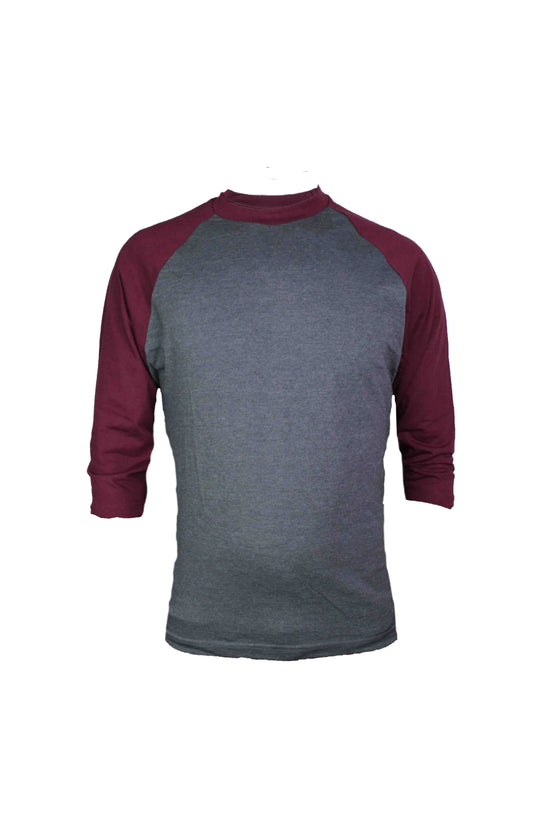 Raglan 3/4 Sleeves Baseball Shirts - Large Size - NEW!