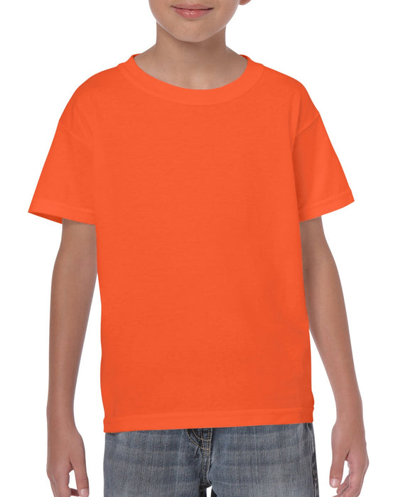 Orange-Gildan-Youth T-shirt-G5000B-Aviva-Atlanta