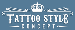 Tattoo Style Concept Logo