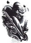 Tatouage Exorciste Antique Asiatique Asian