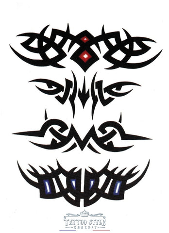 Tatouage Tribal Force Et Courage Tribal