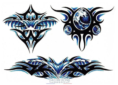 Tatouage Tribal Vague Artistique Tribal