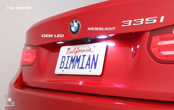 WeissLicht LED License Plate Light