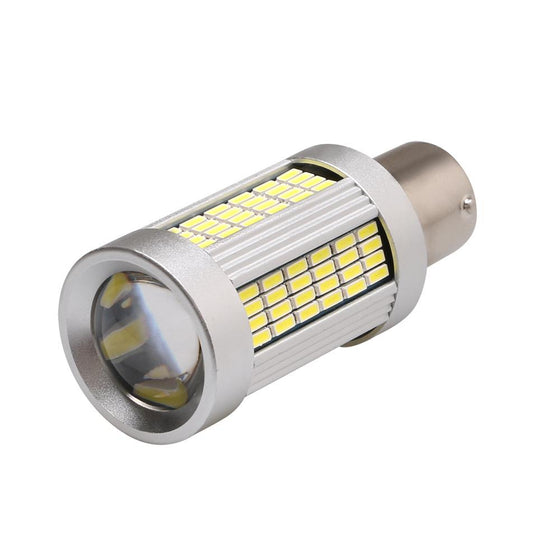 1156 | 7506 | P21W | BA15s | WeissLicht Super Power LED Bulbs | Pair