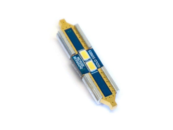 Buy  Gold Series Interior LED | 6418 | 1.5in | 37mm | Festoon Bulb from  WeissLicht at  WeissLicht Lighting