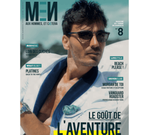 Beach please! - 209 Mare on the Cover of Men In Tendance Magazine
