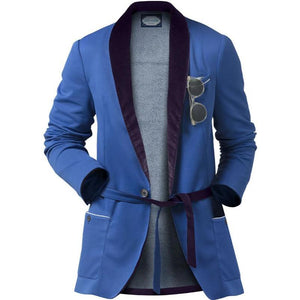 209 Mare Men's Formentera Blue Original 209 Beach Blazer Ghost Shot
