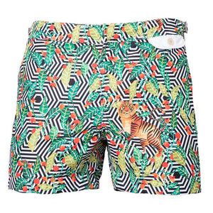 209 Mare Men's Monaco Kambuku 209 Swim Trunks Ghost Shot