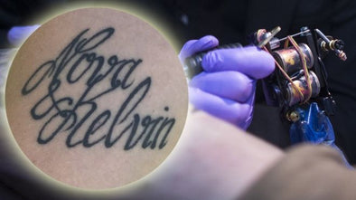 Mum changes son's name after mistake in new tattoo