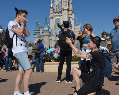 This Couple's Disney World Proposal Is So So Fabulous