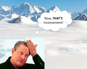 Good News! 99.989% of the Antarctic Ice Sheet Didn't Melt!