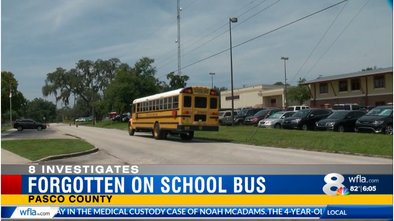 Florida 5-year-old girl dozes off on school bus, wakes up in garage