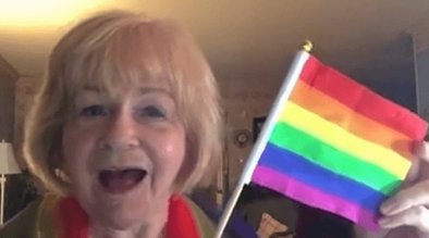 This Christian Grandma's Sweet Song About The LGBT Flag Will Restore Your Faith in Humanity