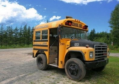 10 Crazy and Unusual Yellow School Buses