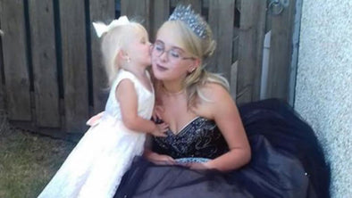 Teen Mom Who Became Pregnant At 13 Shares Prom With Her 2-Year-Old Daughter