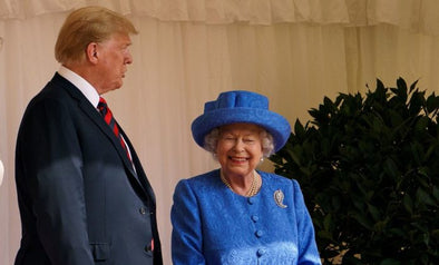 Queen Elizabeth Trolled Trump By Wearing A Brooch The Obamas Gave Her As Trump Arrived In The U.K