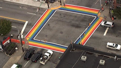 Atlanta Celebrates Pride By Announcing Permanent Rainbow Crosswalk