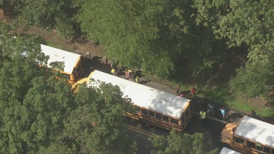 Multiple school buses collide in Medford Lakes, Burlington Co. 24 injured