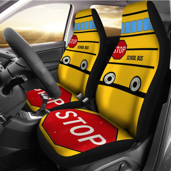 School Bus Car Seat Covers