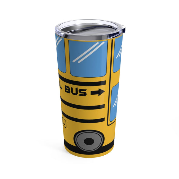 School Bus Tumbler 20oz