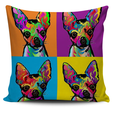 Chihuahua funny - Pillow Cover