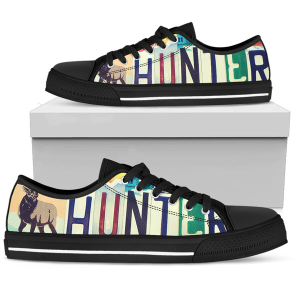 Hunter License Plate Shoes