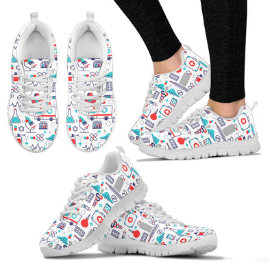Nurse Women's Sneakers - White