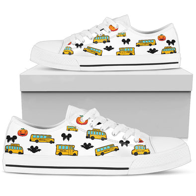 School Bus Halloween Shoes