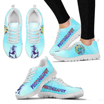 PHOTOGRAPHY PEACE Women's Sneakers
