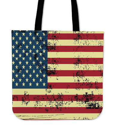 NP American Flag Tote Bag