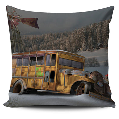 Pillow Covers - Scool Bus