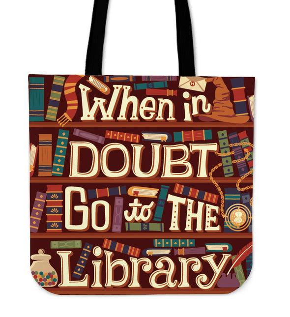 Book Reader Tote Bag